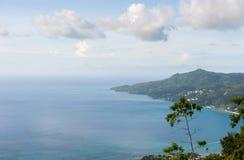 Mahe Island Landscape seychelles royaltyfria bilder