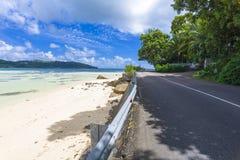 Mahe wyspy brzeg, Seychelles obrazy royalty free
