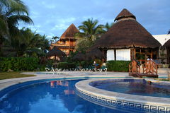 Mahekal Resort in Playa del Carmen - Mexico Royalty Free Stock Photography