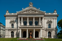 Mahen Theatre in Brno. Stock Images