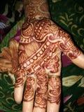 Mahendi Image libre de droits
