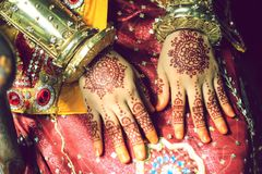 Mahendi Royalty Free Stock Images