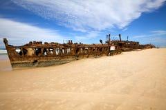 Maheno Schiffwrack Royalty Free Stock Photos
