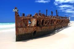 Maheno Shipwreck Stock Photos