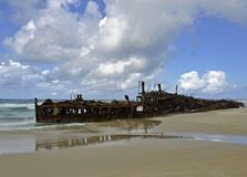 Maheno Shipwreck Royalty Free Stock Image