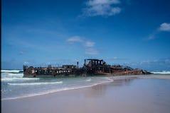 Shipwreck Maheno Royalty Free Stock Photos