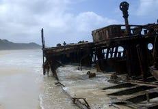 Maheno Wreck Royalty Free Stock Image
