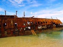 The Maheno wreck Stock Photography