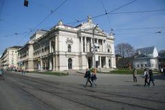 Mahenovo Divadlo Royalty Free Stock Photography