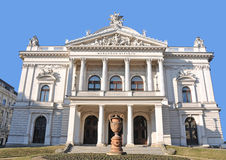 Mahentheater - Brno, Tsjechische Republiek royalty-vrije stock foto's