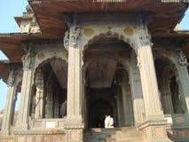Maheshmati shiva temple front view ,lord nandi dev Stock Image