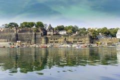 Maheshwar Fort Stock Images