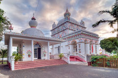Maheswarnath temple in Mauritius stock photos