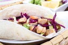 Mahi mahi fish soft taco Royalty Free Stock Photography