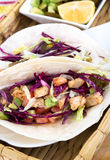 Mahi mahi fish soft taco Stock Image