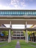 Mahidol universitet, Salaya universitetsområde, miljö Fotografering för Bildbyråer