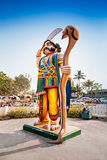 Mahishasura demonu statua Fotografia Royalty Free