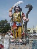 Mahishasura statue at Chamundi hills, Mysore Royalty Free Stock Images