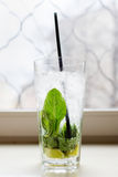 Mahito cocktail with mint Stock Images