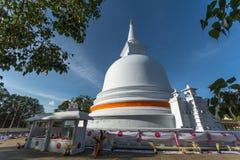 Mahiyangana Raja Maha Vihara est un temple bouddhiste antique dans Mahiyangana, Sri Lanka Images stock