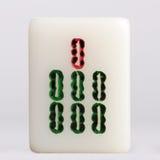 Mahjong — Bamboos Royalty Free Stock Images