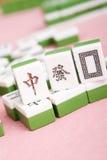 Mahjong. Traditional chinese board game - mahjong royalty free stock photo