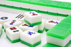 Mahjong Royalty-vrije Stock Foto's