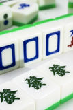 Mahjong. Famous gamble game in asian country stock photo