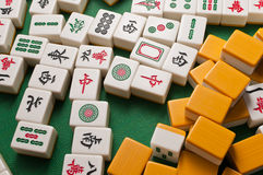 Mahjong Foto de archivo libre de regalías