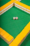 Mahjong Imágenes de archivo libres de regalías