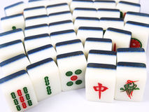 Mahjong 免版税库存照片