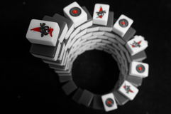Mahjong Image libre de droits