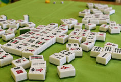 Mahjong Fotografie Stock Libere da Diritti
