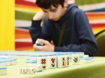 Mahjong Royaltyfria Bilder