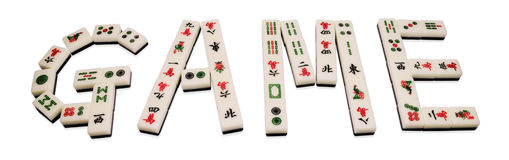 Mahjong Foto de Stock