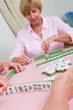 mahjong bawić się zdjęcie royalty free