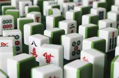Mahjong Stock Photo