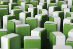 Mahjong. The blocks are mahjong,it's a very popular game in china stock image