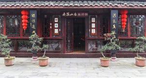Mahjong in chengdu,china Royalty Free Stock Image