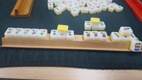 Mahjong, Chiński antyczny czas uprawia hazard grę, Sydney, NSW, Australia obrazy stock