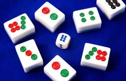 Mahjong in Cina fotografia stock