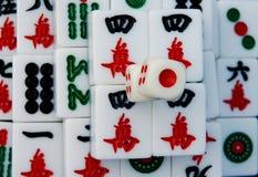 Mahjong en China imagen de archivo libre de regalías