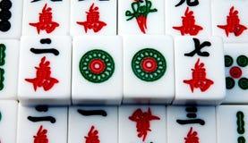 Mahjong en China fotografía de archivo libre de regalías
