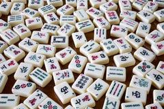 Mahjong Fliesen stockbild