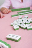 Mahjong game Royalty Free Stock Photos