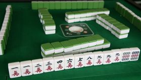 Mahjong game Royalty Free Stock Images