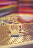 Mahjong game Royalty Free Stock Images