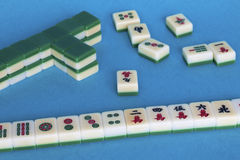 Mahjong game Stock Images