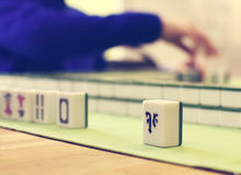 Mahjong game Royalty Free Stock Photos
