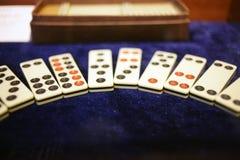 Mahjong im Porzellan Lizenzfreies Stockbild